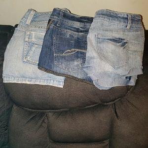 Summer bundle 2 shorts 1 skirt